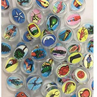 Loteria 54 Acrylic Gems Bingo Chips//Deck includes Small Vitrolero